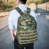 Camouflage Prints Traveler Casual Backpacks - Army Green