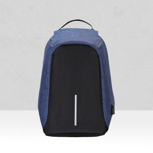 Multifunction Travel Anti Thief Blue Backpack