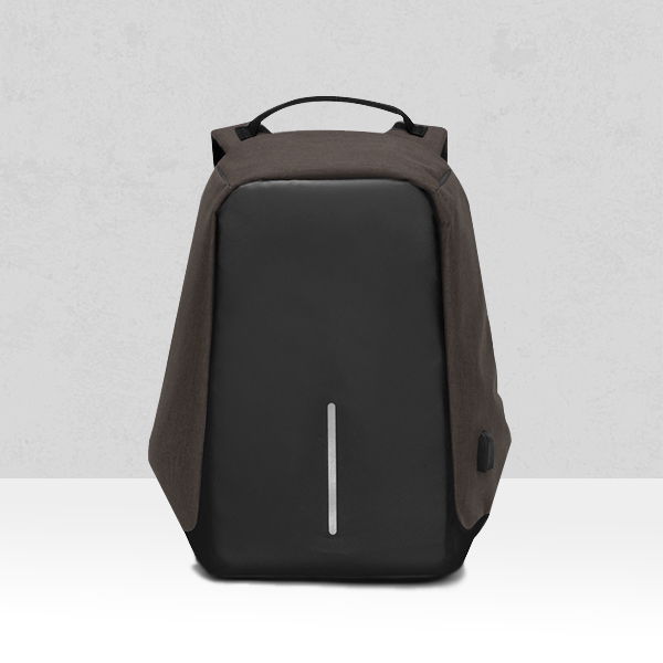 Multifunction Travel Anti Thief Brown Backpack