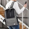 Duo Contrast Multifunction Grey Travel Backpack