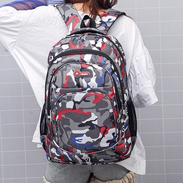 Camouflage Multicolor Traveler Casual Backpacks