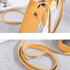 Holographic Star Hanging Shoulder Bags - Yellow