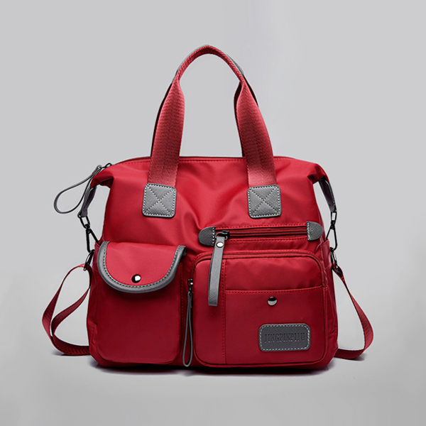 Casual Multipurpose Travel Wide Space Bags - Red