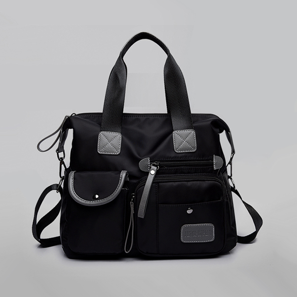 Casual Multipurpose Travel Wide Space Bags - Black