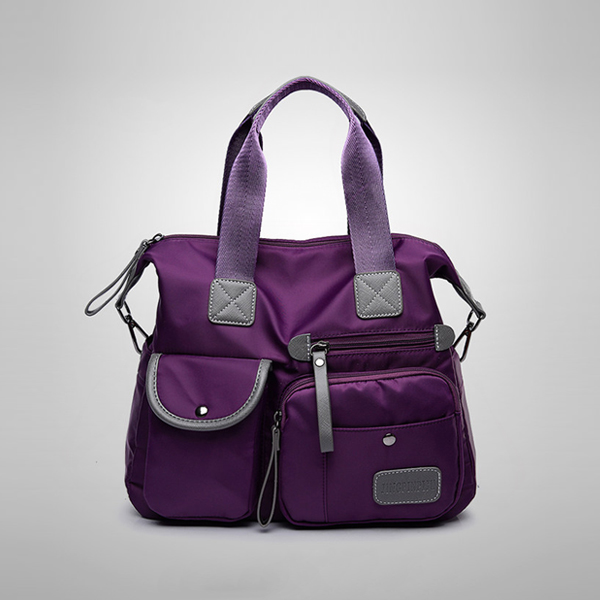 Casual Multipurpose Travel Wide Space Bags - Purple
