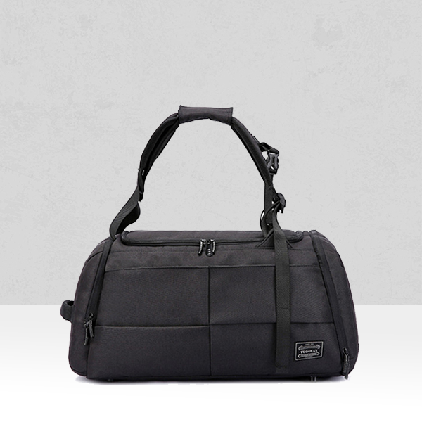 Large Space Black Canvas Quality Traveller Bag