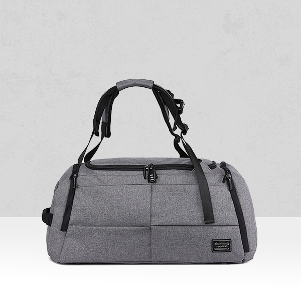 Large Space Grey Canvas Quality Traveller Bag