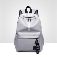 Casual Sports Canvas Travel Backpack - Grey