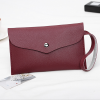 Handy Strap PU Leather Titch Envelope Bags - Burgundy