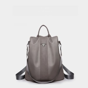 Canvas Casual Daily Use Nylon Backpack For Women