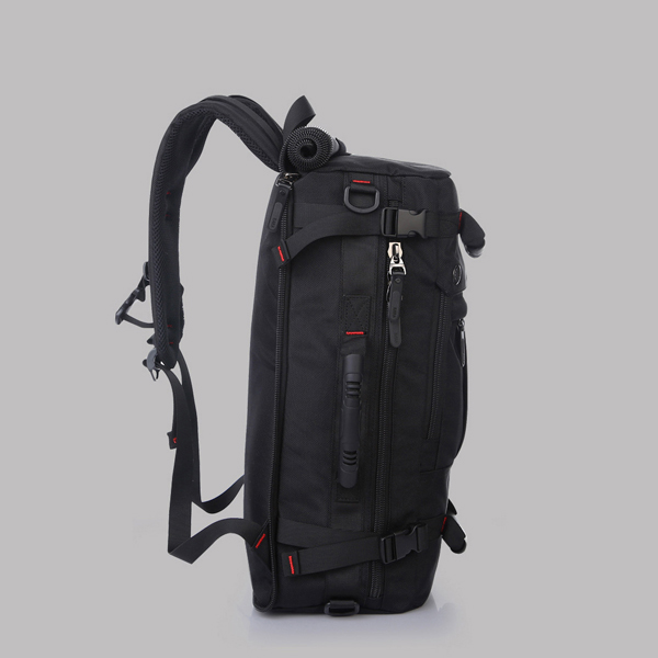 Outdoor Traveller Water Resistant Backpack - Black