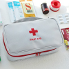 Canvas Zipper Closure First Aid Bags - Grey