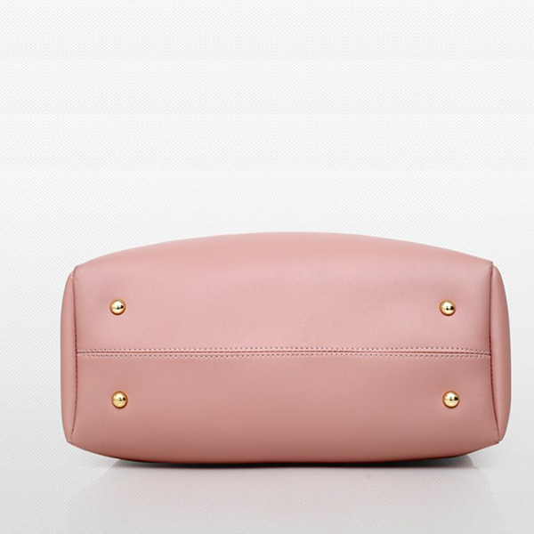 Exclusive Four Pieces Designers PU Pink Handbags