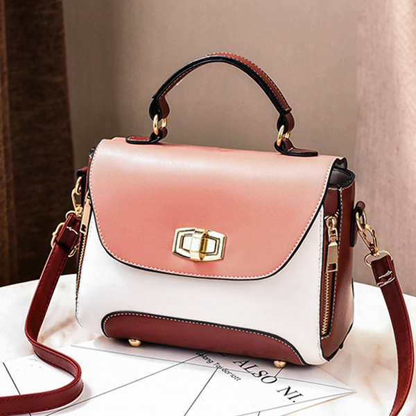 Pink Contrast Quality Multicolor Messenger Bags