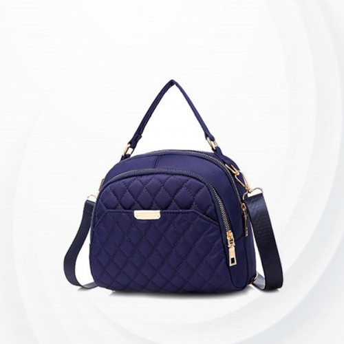 Multi Pockets Casual Travel Shoulders Bags - Blue