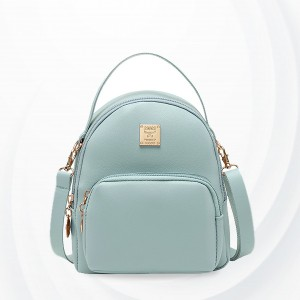 Round Cute Mini Pocket Shoulder Bags - Blue