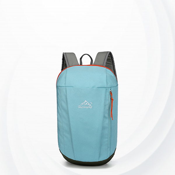 Summer Casual Wide Space Backpack - Light Blue