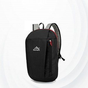 Summer Casual Wide Space Backpack - Black