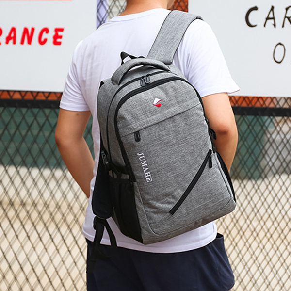 Multi Purpose Traveller Canvas Backpack - Grey