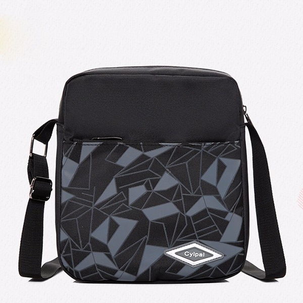 Geometric Pattern Three Pieces Casual Backpacks Set