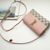 Magnetic Closure Office Formal Messenger Bags - Pink