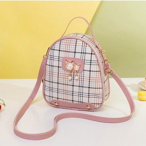 Beautiful Pearl Hanging Shoulders Bags - Pink