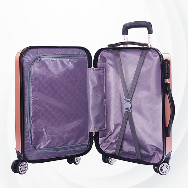 Travel Hand Carry Protective Hard Case Luggage - Golden