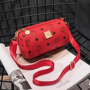 Women Casual Phone Coins Messenger Bags - Red