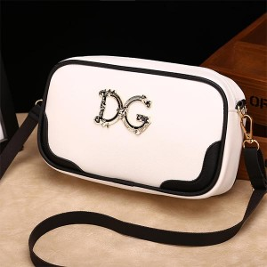 Printed Women Casual Phone Coins Messenger Bags - White