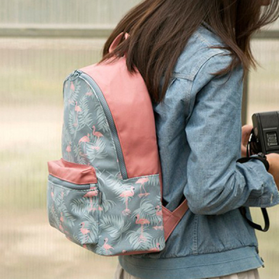 Multiple Prints Canvas Traveller Backpacks