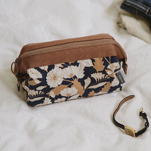 Multiple Purpose Printed Mini Storage Bags - Floral