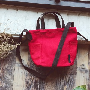 Crafts Casual Korean Canvas Messenger Bags Red