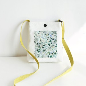 Leaves Printed Colorful Casual Shoulder Bags