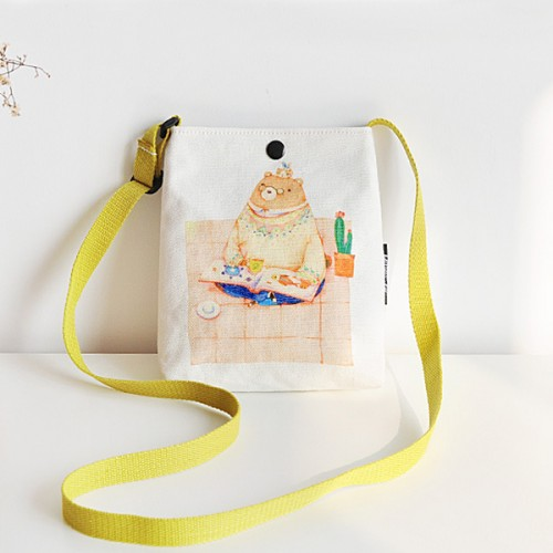 Cartoon Printed Colorful Casual Shoulder Bags