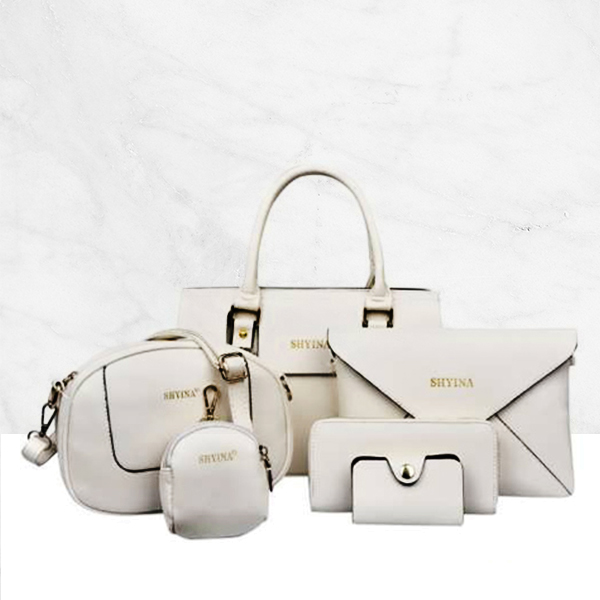 Diagonal Shoulder Handbag Fashion Bag 6 Pcs Set