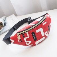 Trendy Letters Printed Cross-body Women Bags - Red