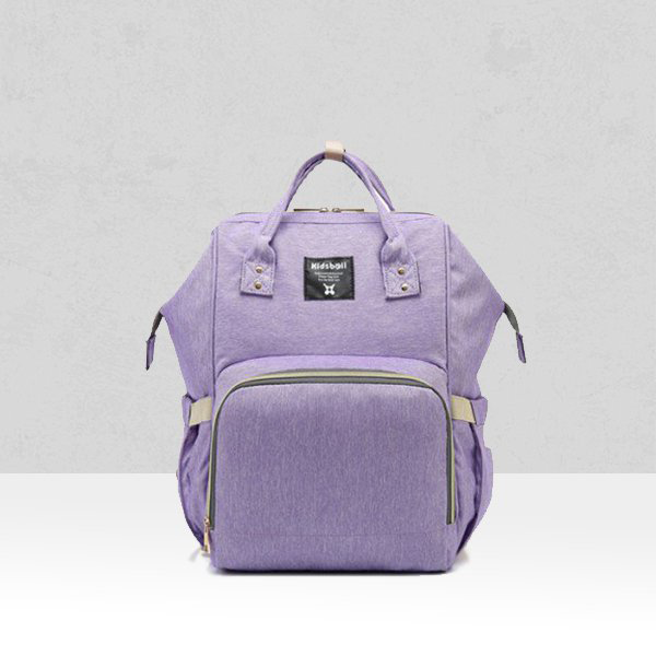 Multi-Purpose Purple Traveling Backpack For Women