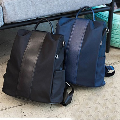 Travel Backpack Fashion Casual Ladies Shoulder Bags - Blue
