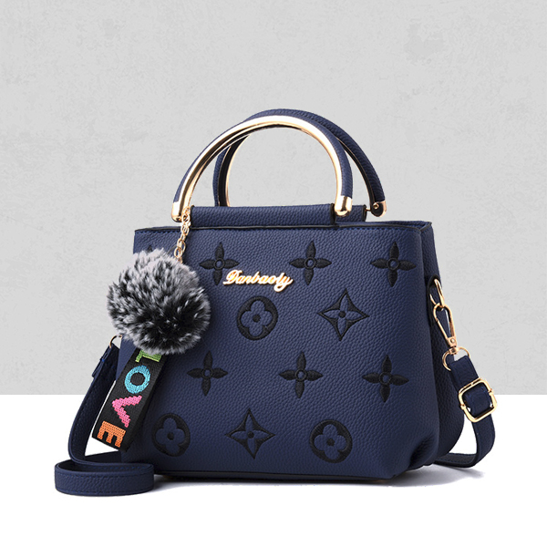 Designers Embroidered Exclusive Shoulder Bags - Blue