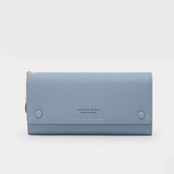 Titch Money Wallet With Handy Strap - Blue