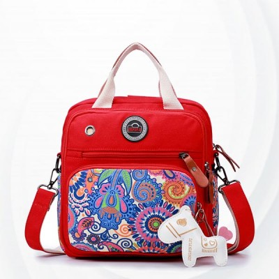 Multi-functional Large-capacity Portable Mother Bag - Red