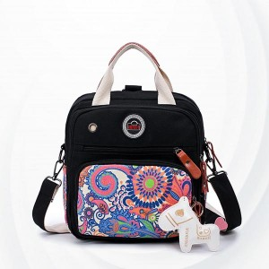 Multi-functional Large-capacity Portable Mother Bag - Black