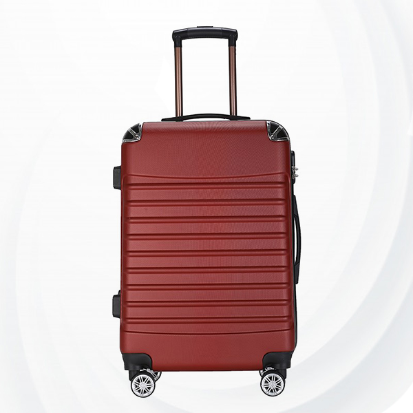 Universal Hand Carry Travel Wheel Suitcase Luggage - Red