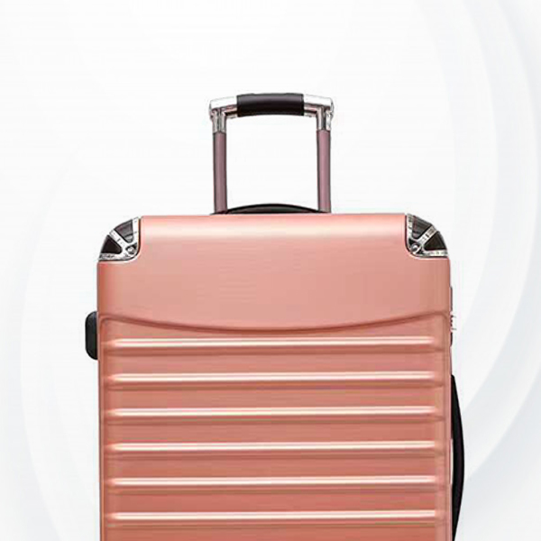 Universal Hand Carry Travel Wheel Suitcase Luggage - Rose Gold