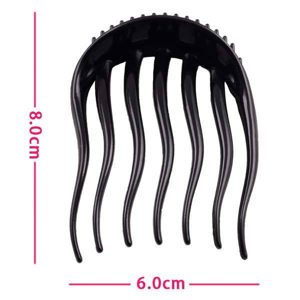 Hair Tools Wavy Comb Poly Tail Clip