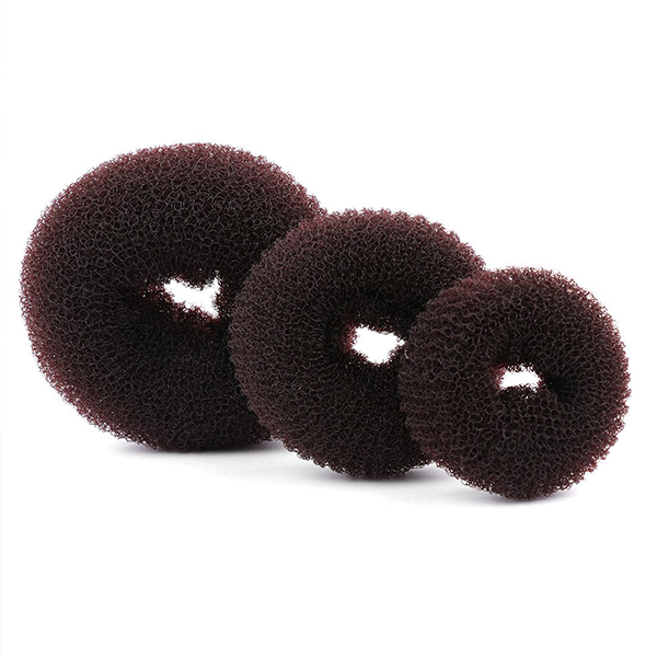 Donut Shaped Magic Hair Styling Bands - Brown