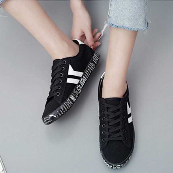 Black White Teenage Best Sportswear Sneakers