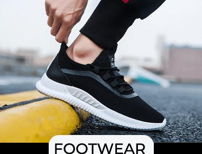 Main Footwear Banner
