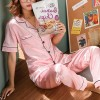 Soft Nightwear Summer Special Two Piece Suit - Pink