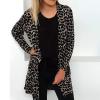 Leopard Prints Full Sleeves Cardigan